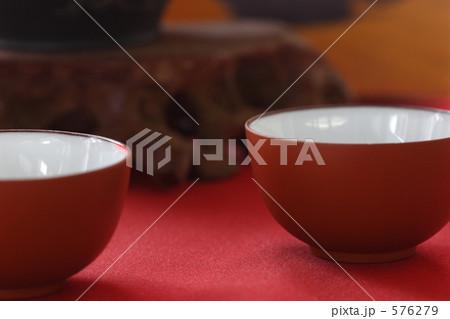 急須 茶碗 茶碗セットの写真素材 [576279] - PIXTA