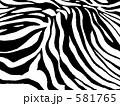 ゼブラ アニマル柄 ゼブラ柄のイラスト 581765
