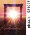 ご来光 初日の出 日の出の写真 584043