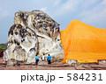 タイ王国 アユタヤ ブッダの写真 584231