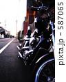 オートバイ 二輪車 単車の写真 587065