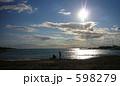 砂浜 アテネ ギリシャの写真 598279
