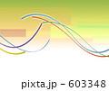 ラインアート 帯 リボンのイラスト 603348