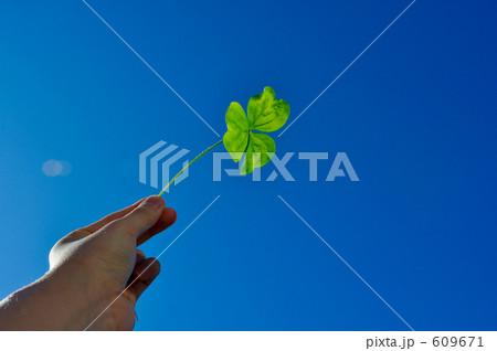 素材 写真 販売 フォト 画像 イメージ 背景 壁紙 クローバー エコ 自然 春 609671