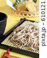 麺 ざるそば 日本そばの写真 610121