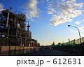 川崎京浜工業地帯の夕暮れ 612631