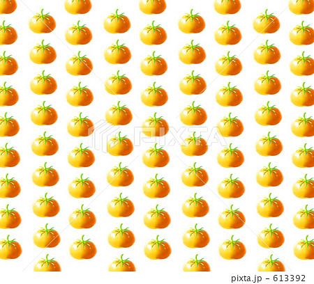 オレンジトマトの水玉模様 CG 613392