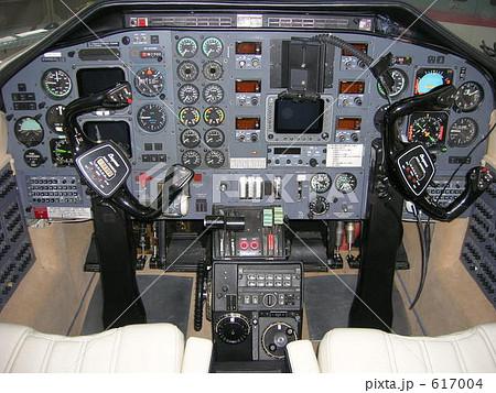 パイパーシャイアンの操縦席 617004
