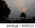 お堂 (中国/杭州_西湖) 640314