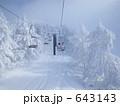 蔵王温泉スキー場ペアリフト 643143