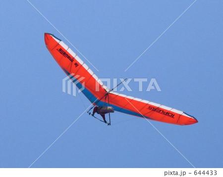 飛行中のハンググライダー 644433