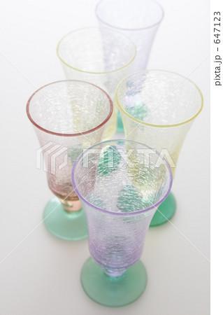 カラフル・グラスの写真素材 [647123] - PIXTA