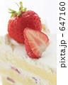 イチゴショートケーキ イチゴショート ショートケーキの写真 647160