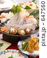ふぐ鍋 てっちり 河豚鍋の写真 647560