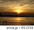 船上からの朝日 その2 651558