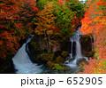 竜頭の滝 奥日光 紅葉の写真 652905