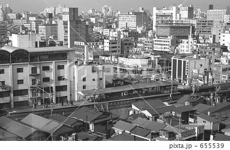 昭和の風景・品川区五反田の街並み 昭和48年 655539