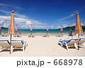 パトンビーチ プーケット ビーチチェアの写真 668978