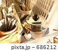 夕方キッチン 686212