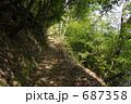 遊歩道 山道 歩道の写真 687358