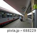 車両 プラットホーム ウィーン西駅の写真 688229