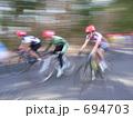 二輪車 サイクリング 乗り物の写真 694703