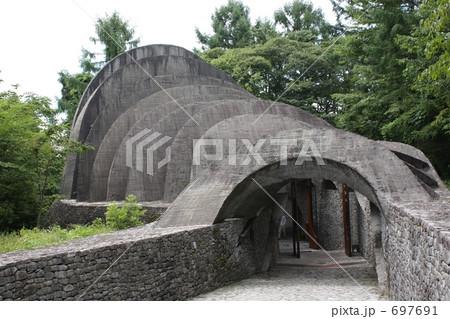 軽井沢 石の教会 697691