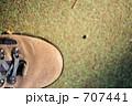 トレッキングシューズ 登山靴 靴の写真 707441