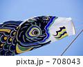 コイノボリ 鯉幟 こどもの日の写真 708043