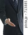友好 握手 ビジネスの写真 713885