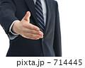 友好 握手 ビジネスの写真 714445