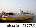 大型船 ドック ドッグの写真 717735