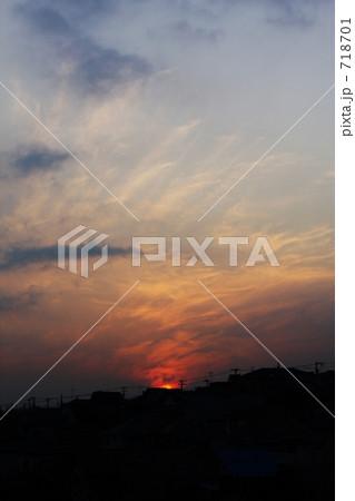 雲が燃えている 718701