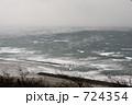 稲佐の浜 海岸 砂浜の写真 724354