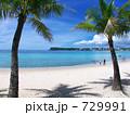 南の島 椰子 恋人岬の写真 729991