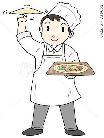 ピザ職人 736661