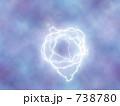 稲光 閃光 雷のイラスト 738780
