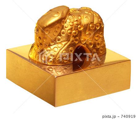国宝の金印・漢委奴国王印(かんのわのなのこくおういん)レプリカ 740919