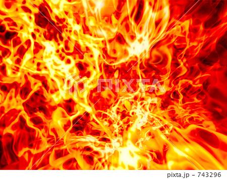 炎のイラスト素材 [743296] - PI...