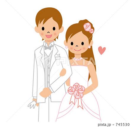 結婚のイラスト素材 745530 Pixta