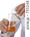 三角フラスコ 培養 研究開発の写真 755248
