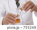 培養 三角フラスコ 研究開発の写真 755249