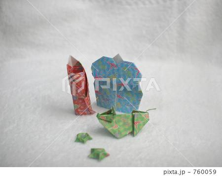 クリスマス 折り紙 折り紙 7月 : pixta.jp
