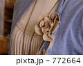 麻のコサージュ 772664