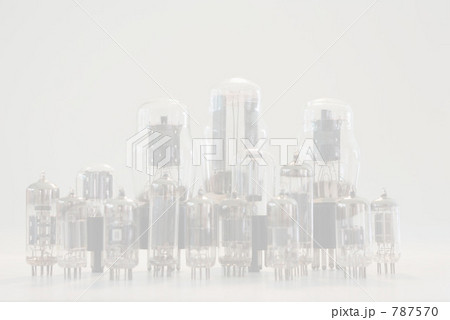 真空管 整列 アナログの写真素材 [787570] - PIXTA