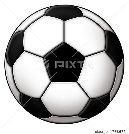 サッカーボール  イラスト 788675