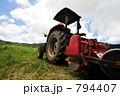 重機 耕運機 トラクターの写真 794407