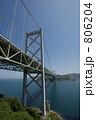 関門橋 関門海峡 関門自動車道の写真 806204