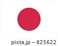 日本の国旗 (比率および紅色3R4/14正式坂) 825622