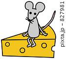 チーズとねずみ 827981